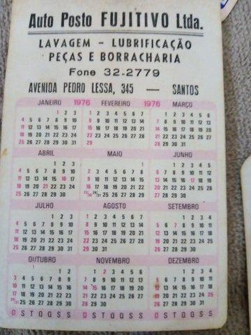 Calendários antigos lote 130 unds. - Foto 5