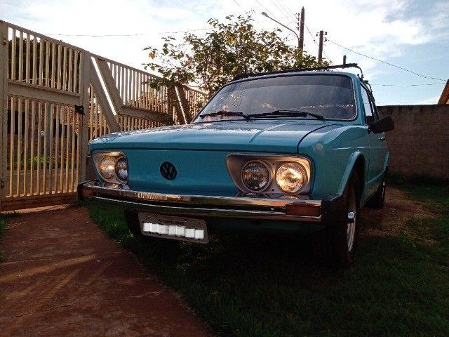 Brasília 80/80 1.6 top restaurada, linda mesmo - Foto 3