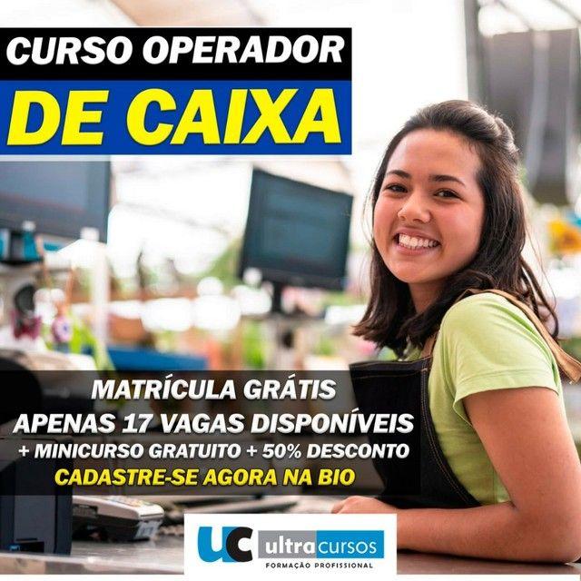 Ultra cursos Operador de Caixa.