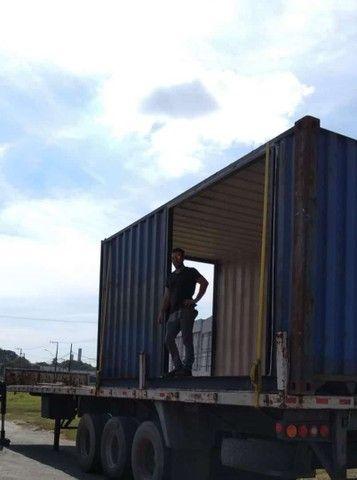 Container hc 40 ...duas partes já estruturado - Foto 2