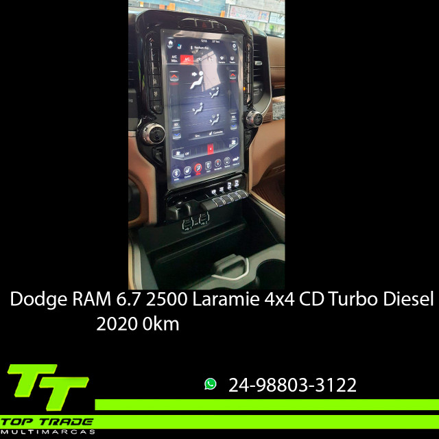 Dodge RAM 2500 Laramie 6.7 TDI Cd 4x4 Diesel 2020 0km - Foto 8