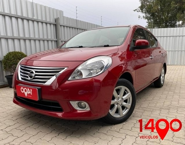 Nissan VERSA SL 1.6 Flex 2014 COMPLETO!