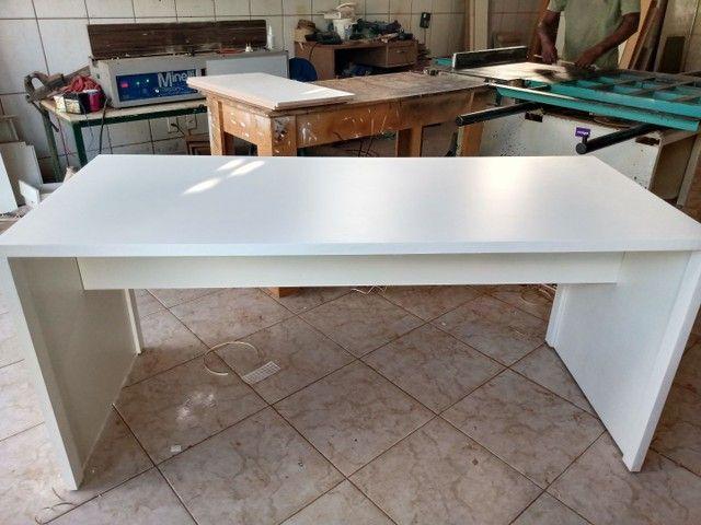 Mesa para escritório fabricação própria - Foto 2