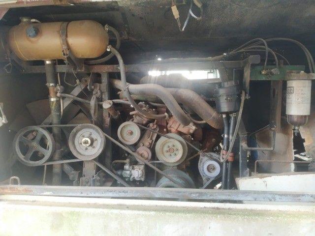 Mecânica Ônibus - Motor 1618 6cc - Caixa Grande 6 marchas - Funcionando