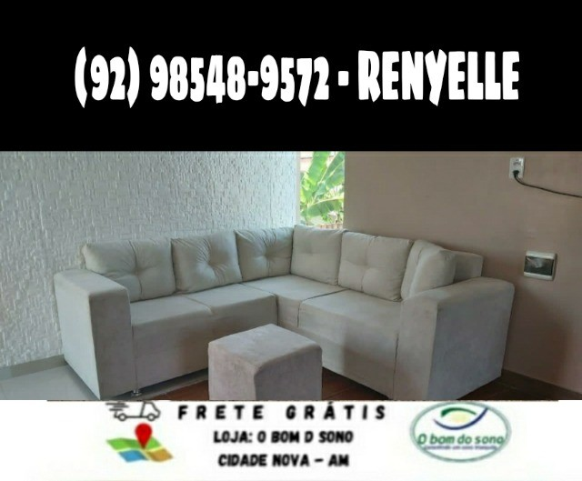 sofá de canto ;@ - Foto 2
