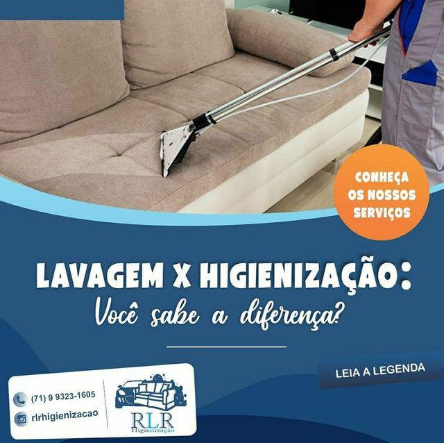 Lavagem e Higienização de estofados em geral - Foto 3