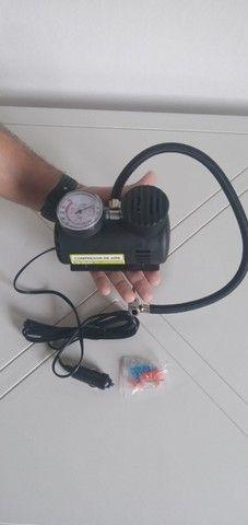 Mini compressor de ar portátil veicular - Foto 2