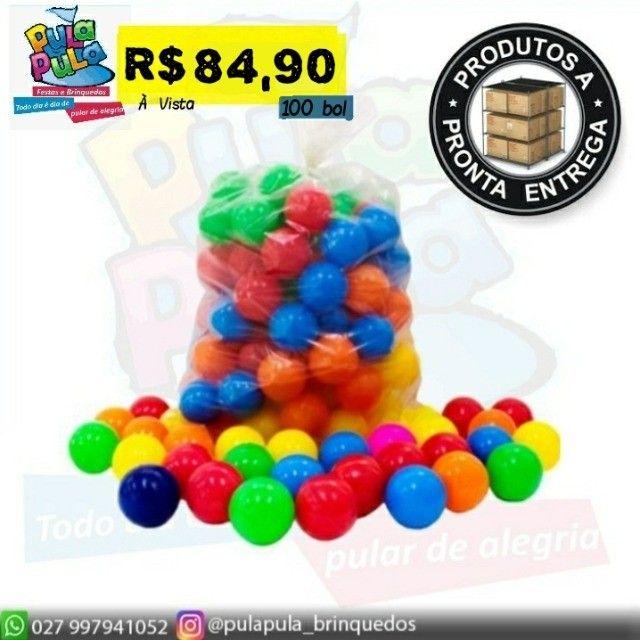 Bolinha colorida - ideal para piscina em vários modelos - o melhor preço do ES! - Foto 2