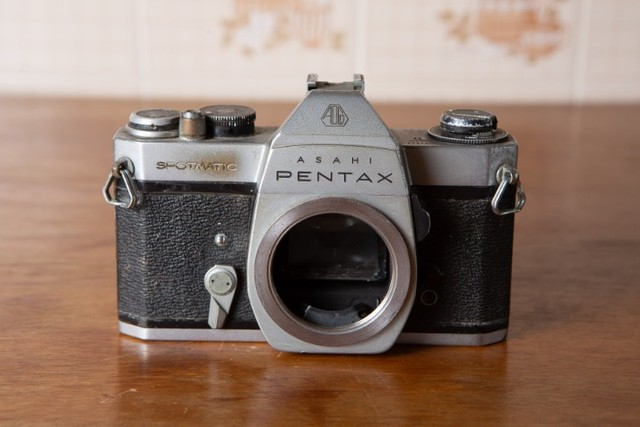Kit 3 Cameras E 6 Lentes Pentax + Acessórios - Foto 3