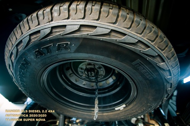 Ford Ranger 2.2 XLS 4x4 Diesel Auto 2020/2020 - Foto 9