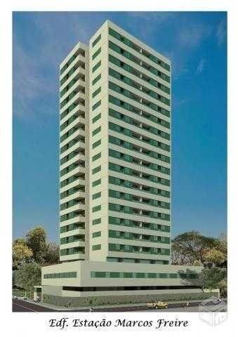 BR_LM - Lindo apartamento na beira mar de Casa Caiada com 95m² - Estação Marcos Freire - Foto 2