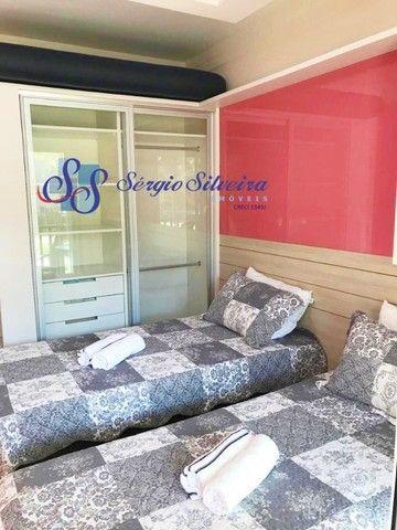 Pé na areia Apartamento 3 quartos no Porto das dunas Beach Living térreo mobiliado  - Foto 7