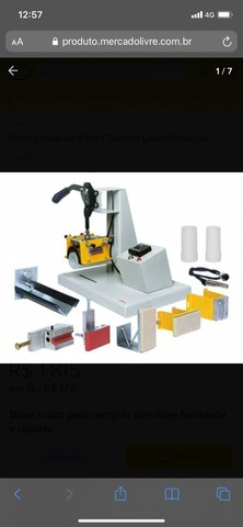 Máquina transfer a laser - Foto 2
