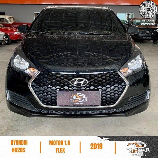 Hyundai HB20S - Unique - 1.0 -  2019 - 20.000Km - Preto