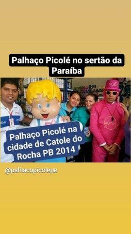 Palhaço Picolé serviços de Locutor porta de lojas, empresas... - Foto 2