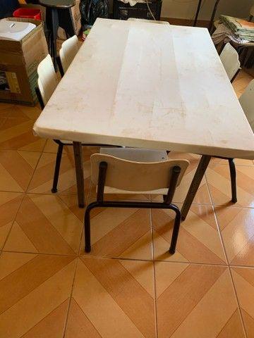 Mesa infantil p refeitorio - Foto 2