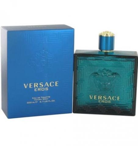 Perfume Versace Eros Men 200 ml ,lacrado,trouxe dos EUA 100 % Original