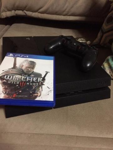 Playstation 4 + The witcher 3