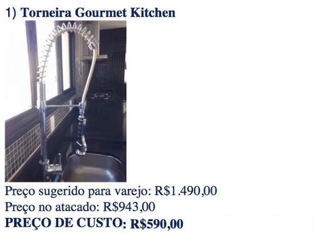 Torneira Gourmet Monocomando