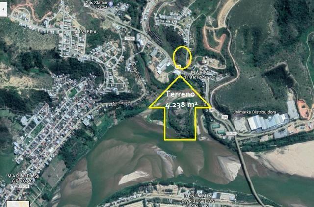 Terreno 4.238 m², B. Mario Giurizato, Margem BR 259 - Foto 12