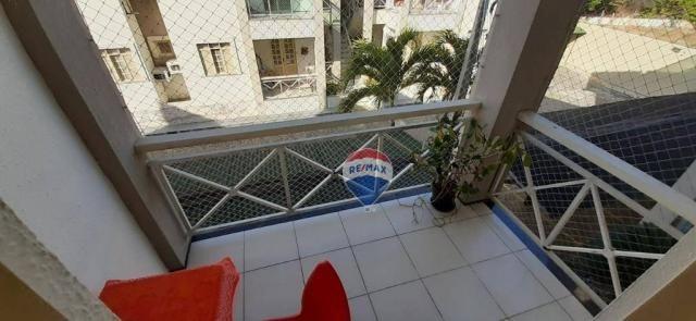 Apartamento duplex com 4 dormitórios à venda, 143 m² por r$ 395.000 - papicu - fortaleza/c - Foto 14
