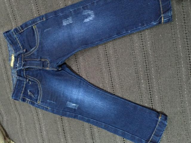 Calça jeans bebê menino - Foto 4