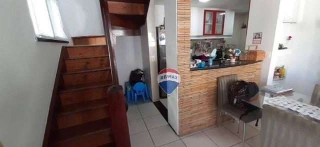 Apartamento duplex com 4 dormitórios à venda, 143 m² por r$ 395.000 - papicu - fortaleza/c - Foto 13