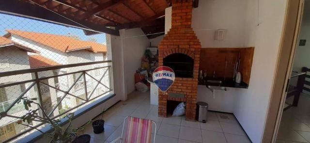 Apartamento duplex com 4 dormitórios à venda, 143 m² por r$ 395.000 - papicu - fortaleza/c - Foto 15