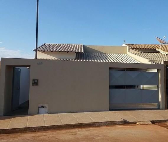 Casa nova: Coromandel, MG. Vale do Sol, 3 quartos, suíte