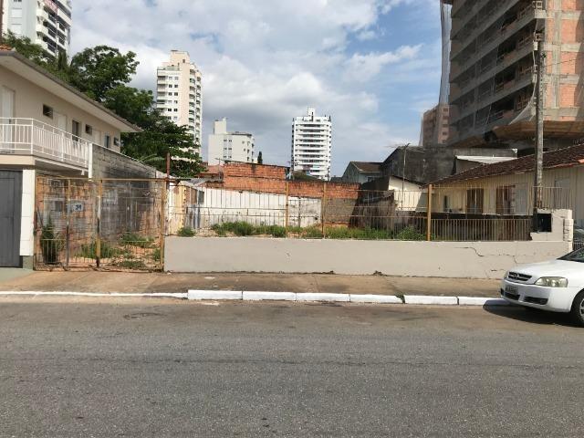 Terreno 360m2 - viabilidade 14 andares - Rua Eugênio Portela - Barreiros - São José - Foto 2