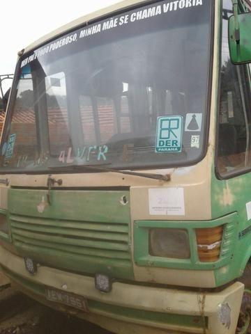 Micro Ônibus Mercedes 608 Caio Carolina III Curto, 24 passageiro, boa mecânica