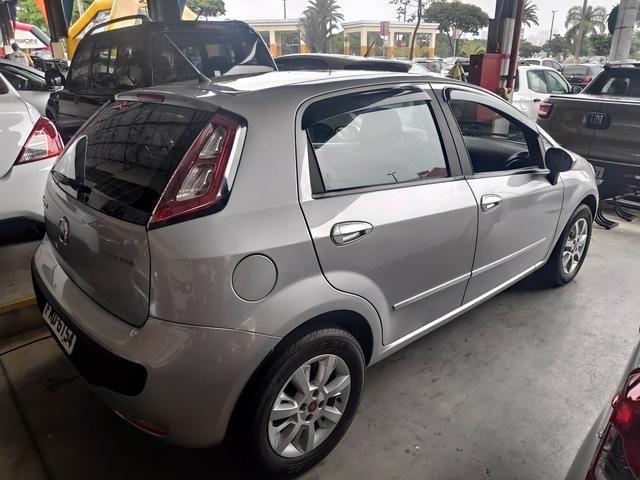 Fiat Punto Attractive Prata 2013 Completo - Foto 4