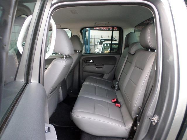VW Amarok Trendline Diesel Turbo 2018 4x4 Automática (s10 hilux triton ranger) - Foto 14