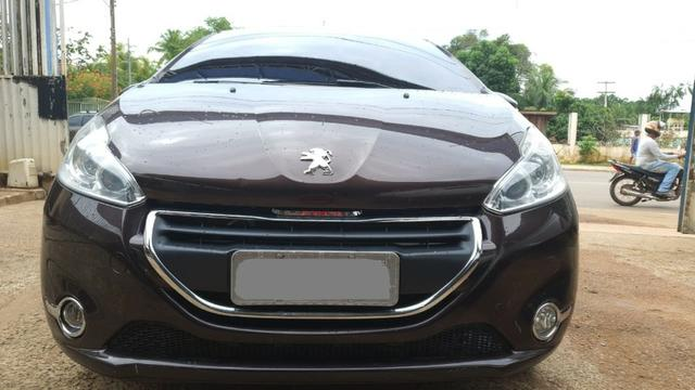 ''Peugeot 208 Griffe 1.6 Automático 2014/2015, completo''