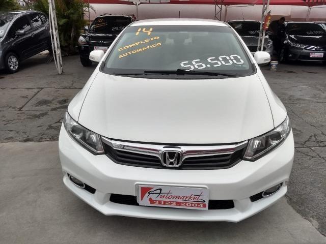 HONDA CIVIC 2013/2014 2.0 LXR 16V FLEX 4P AUTOMÁTICO - Foto 2