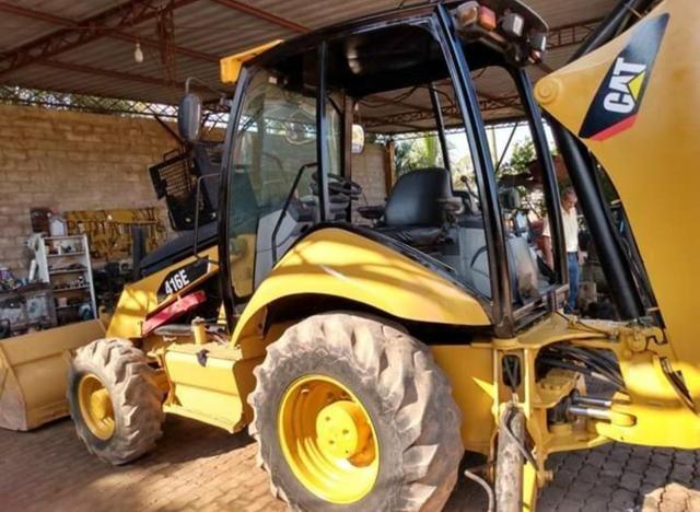 Escavadeira Cat 416e 4x4 - Foto 2