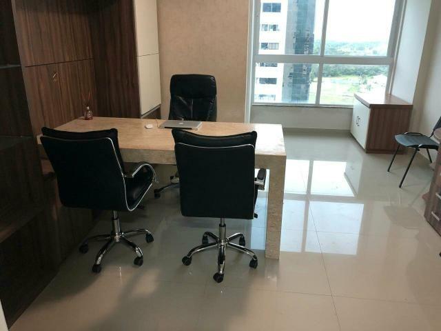 Alugo Sala mobiliada no edifício Business Center Renascença ótima para escritório - Foto 2