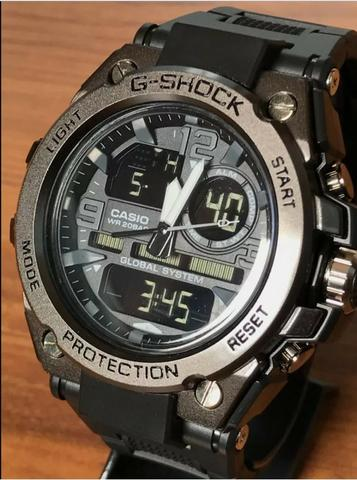 149dc960f87 Relógio Esportivo Digital e Analógico estilo G-shock - Bijouterias ...