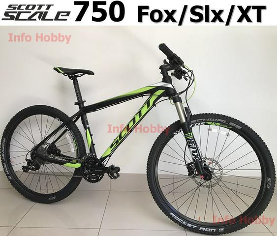 86e0a50ecd3 Bike MTB scott scale 750 Fox Slx XT 27.5 semi nova - Ciclismo ...