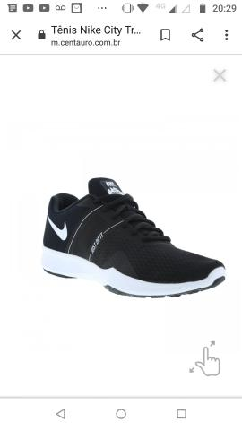 Tênis Nike Feminino Novo Tam 37 Aceito Troca Faço No Cartão 3x Sem Juros