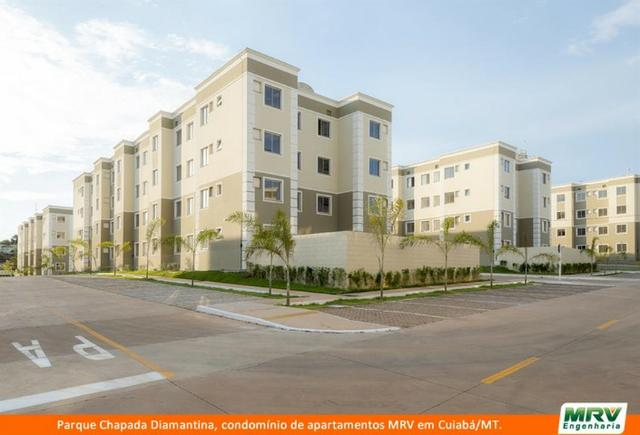 RARO! Apartamento 2 Quartos com Jardim Privativo. Parque Chapada Diamantina MRV - Foto 4