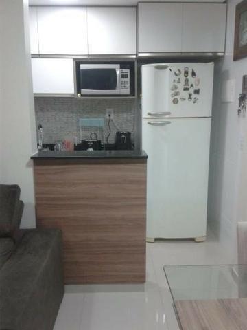 Excelente apartamento 2 Quartos com suíte montado e decorado - Foto 8