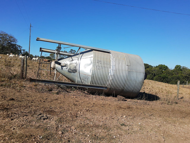 Silo para ração 11 toneladas itapaci goias - Foto 2