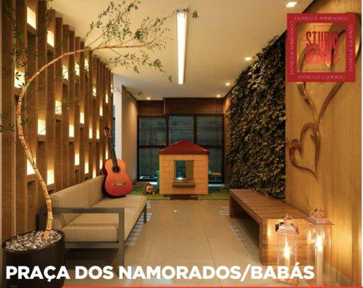 Apartamento na Jatiuca, quarto e sala, studio, 2 quartos ate 100 meses - Foto 19