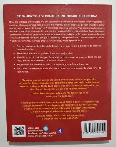 Livro Casais Que Lucram Deborah Price Gente Editora - Foto 2