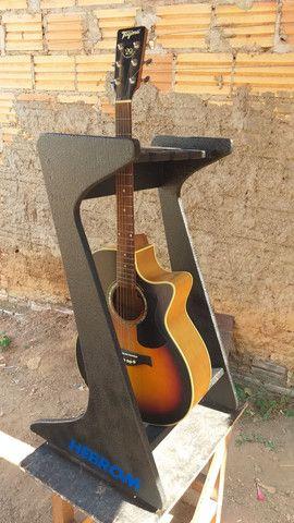 Vendo suporte para guitarra e violão  - Foto 5