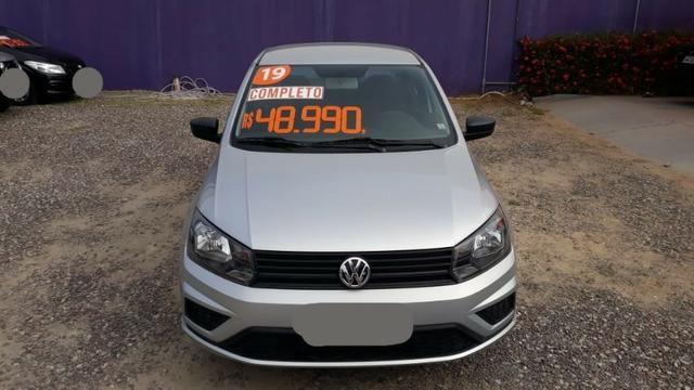Volkswagen Voyage 1.6 MSI Flex 8V 4p - Prata