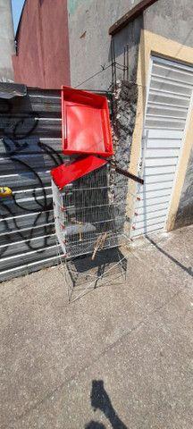 Viveiro grande para aves em aço inox - Foto 2