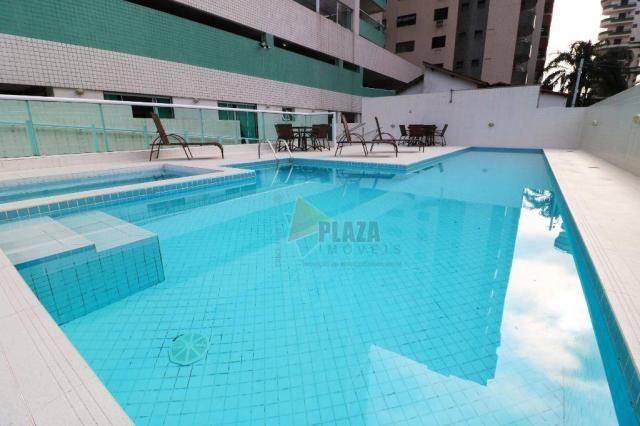 Apartamento para alugar, 100 m² por R$ 3.000,00/mês - Canto do Forte - Praia Grande/SP - Foto 13