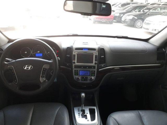 Hyundai Santa Fe 3.5 Mpfi GLS 7 L V6 2010/2011 Prata Blindado - Foto 7